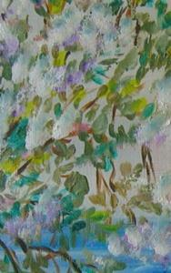 Detail Image for art By the Lake, SOLD