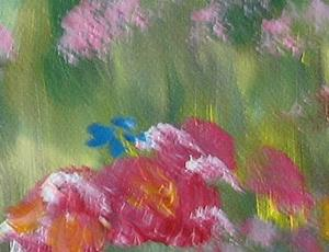 Detail Image for art Field of Poppies, SOLD