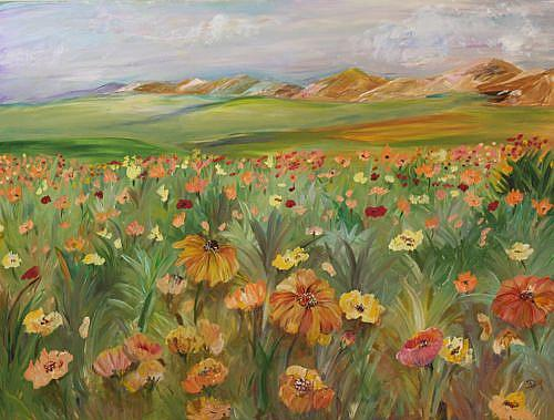 Art: Arizona Spring by Artist Delilah Smith