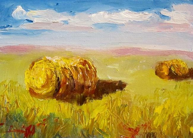 Art: Summer Hay--sold by Artist Delilah Smith