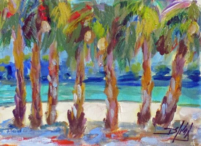 Art: Tropical Beach No.2 by Artist Delilah Smith