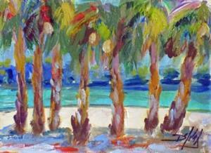 Detail Image for art Tropical Beach No.2