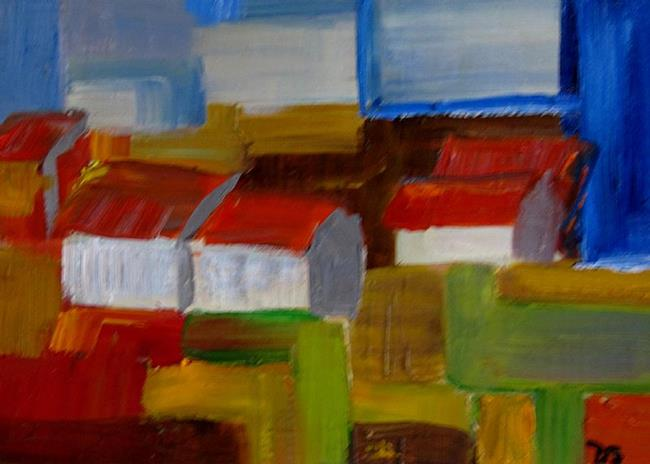 Art: Abstract Landscape by Artist Delilah Smith