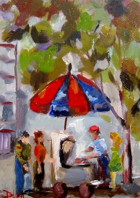 Art: Hot Dog Stand No.2-sold by Artist Delilah Smith