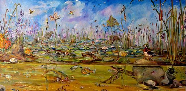 Art: Marsh Melody by Artist Delilah Smith