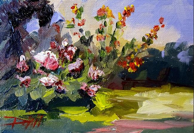 Art: Peonies by Artist Delilah Smith
