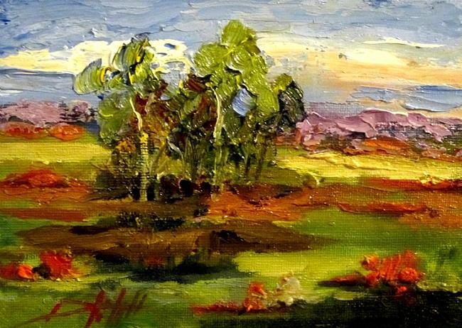 Art: Landscape with Poppies N. 2 by Artist Delilah Smith