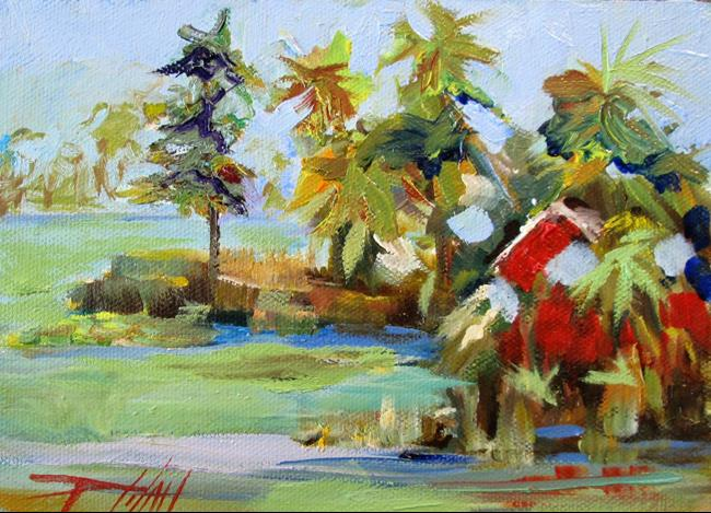 Art: Lake Tarpon by Artist Delilah Smith