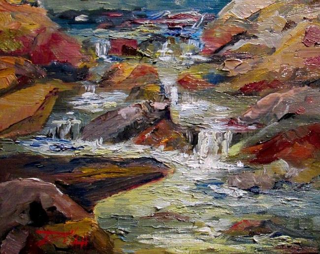 Art: Poudre River by Artist Delilah Smith