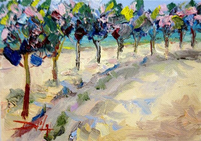 Art: A Colorful Lane by Artist Delilah Smith