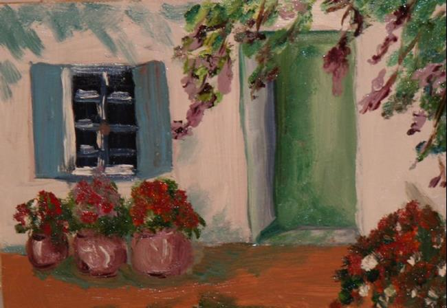 Art: Greece by Artist Delilah Smith