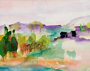 Detail Image for art Abstract Landscape