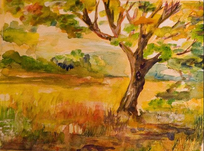 Art: Late Summer-sold by Artist Delilah Smith