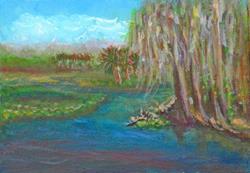 Art: Lemon Bluff SOLD by Artist Terri L West