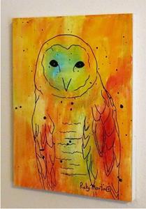 Detail Image for art Pop Art Owl