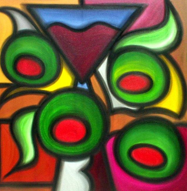 Art: Pimentos by Artist Thomas C. Fedro