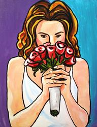 Art: Wedding Day by Artist Laurie Justus Pace