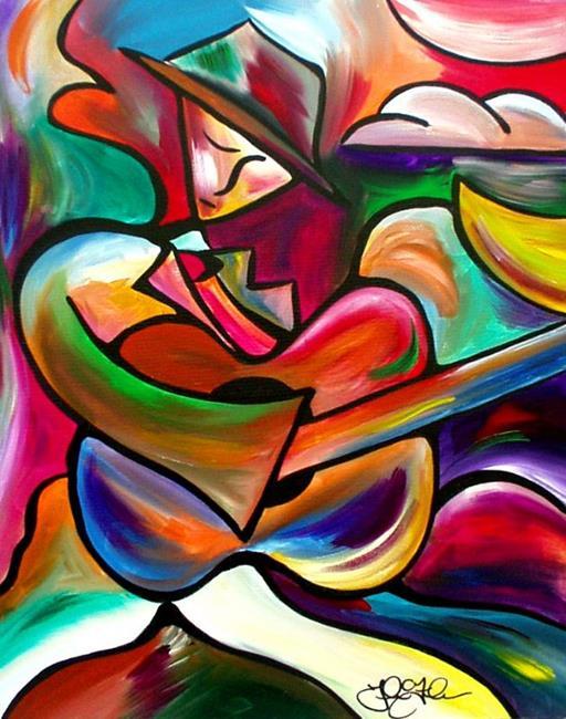 Art: Music Man by Artist Thomas C. Fedro
