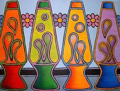 Art: Lava Lamps by Artist Lindi Levison