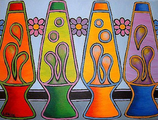 Art: Lava Lamps by Artist Lindi Levison