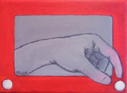 Art: Birth of the Artist's Hand by Artist Lindi Levison