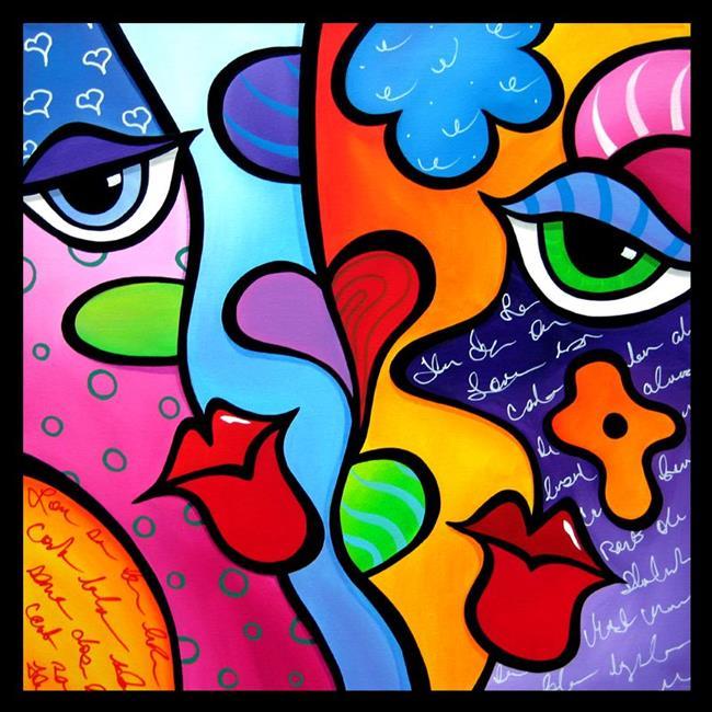 Art: Pop 321 2424 Abstract Pop Art Pure by Artist Thomas C. Fedro