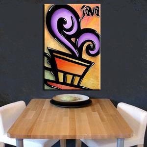 Detail Image for art Pop 325 2436 Original Abstract Pop Art Java