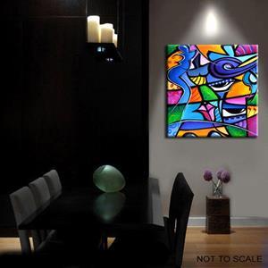Detail Image for art Pop 360 2424 Original Abstract Pop Art Take Me Home