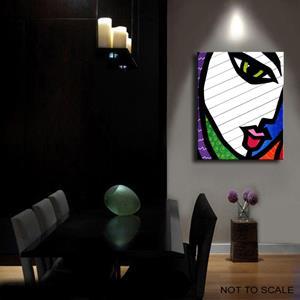 Detail Image for art Pop 385 2430 GW Original Abstract Pop Art Patchwork