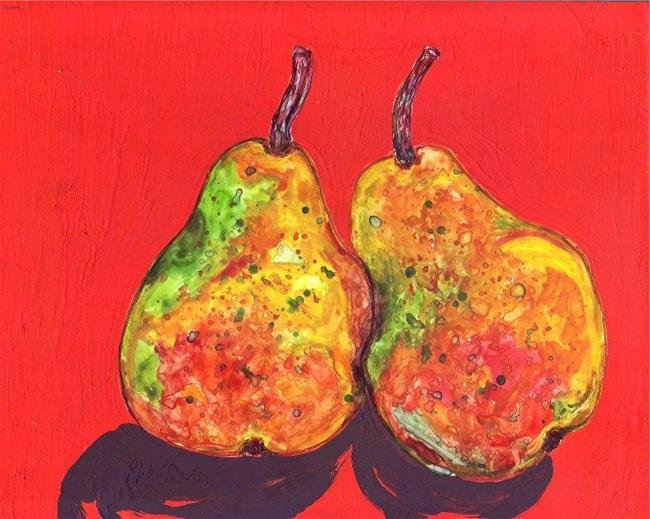 Art: Pair of Pears by Artist Ulrike 'Ricky' Martin