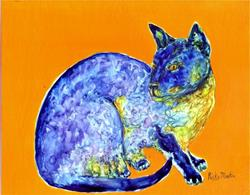 Art: Siamese Cat - available in my Etsy Store by Artist Ulrike 'Ricky' Martin