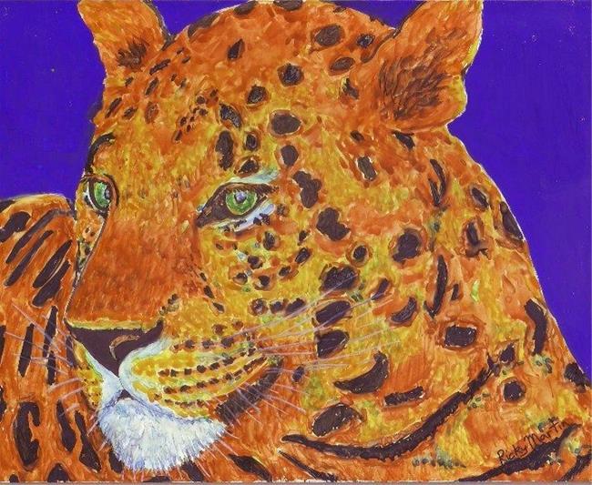 Art: Leopard by Artist Ulrike 'Ricky' Martin