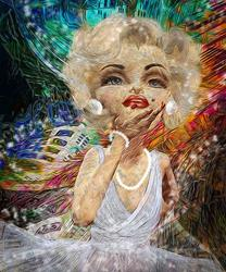 Art: So Marilyn by Artist Alma Lee