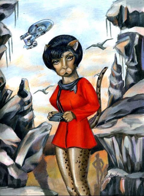 Art: Kitty Uhara from Star Trek by Artist Alma Lee