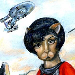 Detail Image for art Kitty Uhara from Star Trek