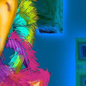 Detail Image for art Night Shift Rooster