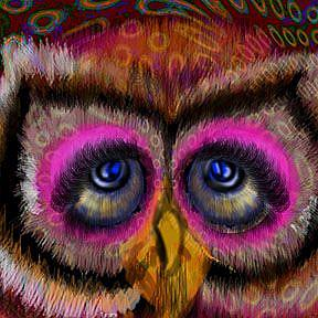 Detail Image for art Swing Shift Owl