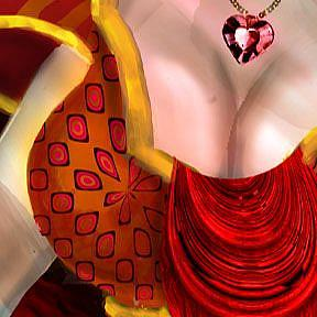 Detail Image for art The Queen of Hearts: the Eve of the Fall