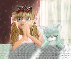 Art: Bedtime Prayers by Artist Alma Lee