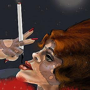 Detail Image for art The Painted Lady