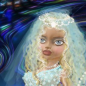 Detail Image for art Abolonia: Princess and Pearls