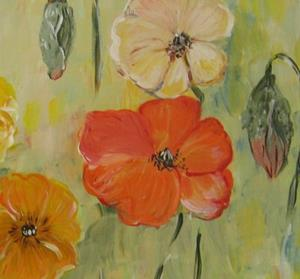 Detail Image for art California Poppies, SOLD