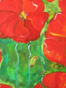 Detail Image for art Poppy Field-sold