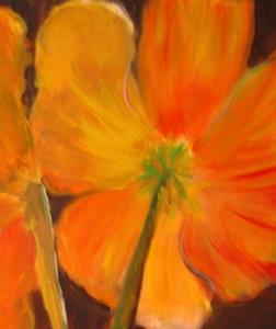 Detail Image for art Tuscan Poppies