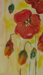 Detail Image for art Poppies Bloom-sold