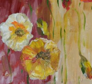 Detail Image for art Two Toned Poppies