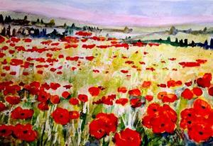Detail Image for art Poppy Fields No. 2