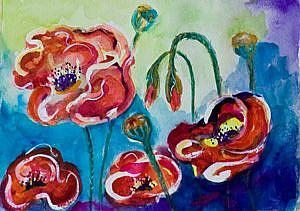 Detail Image for art Wow Poppies II