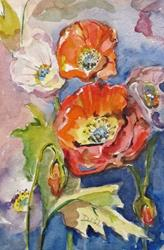 Art: Dreamy Poppies by Artist Delilah Smith