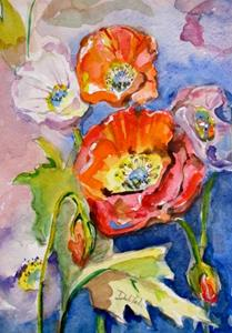 Detail Image for art Dreamy Poppies